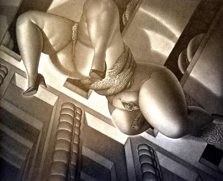 Yoshifumi Hayashi surreal erotica