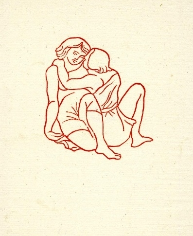 Young couple making love Aristide Maillol