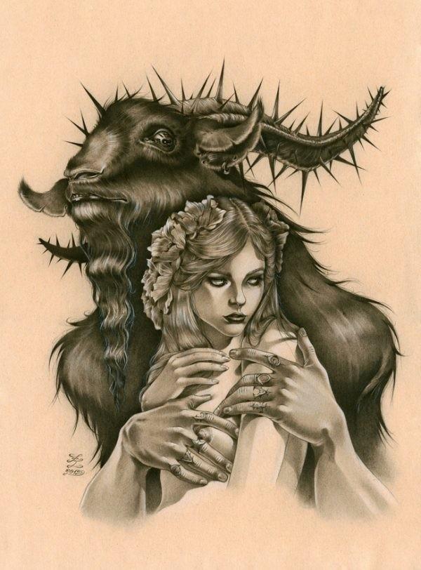 Zoe Lacchei: Evil Goat