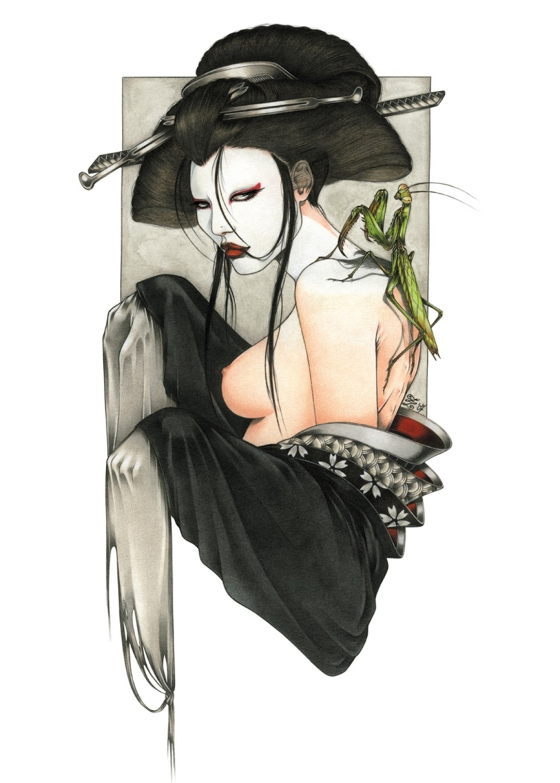 zoe lacchei geisha mantis