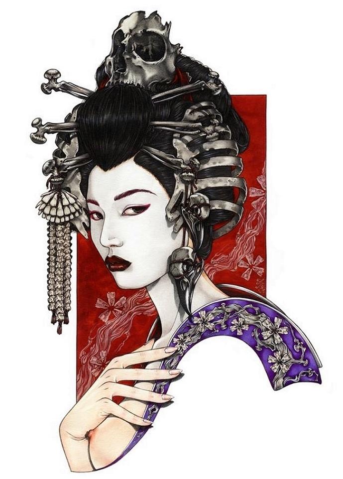 zoe lacchei geisha of the bones