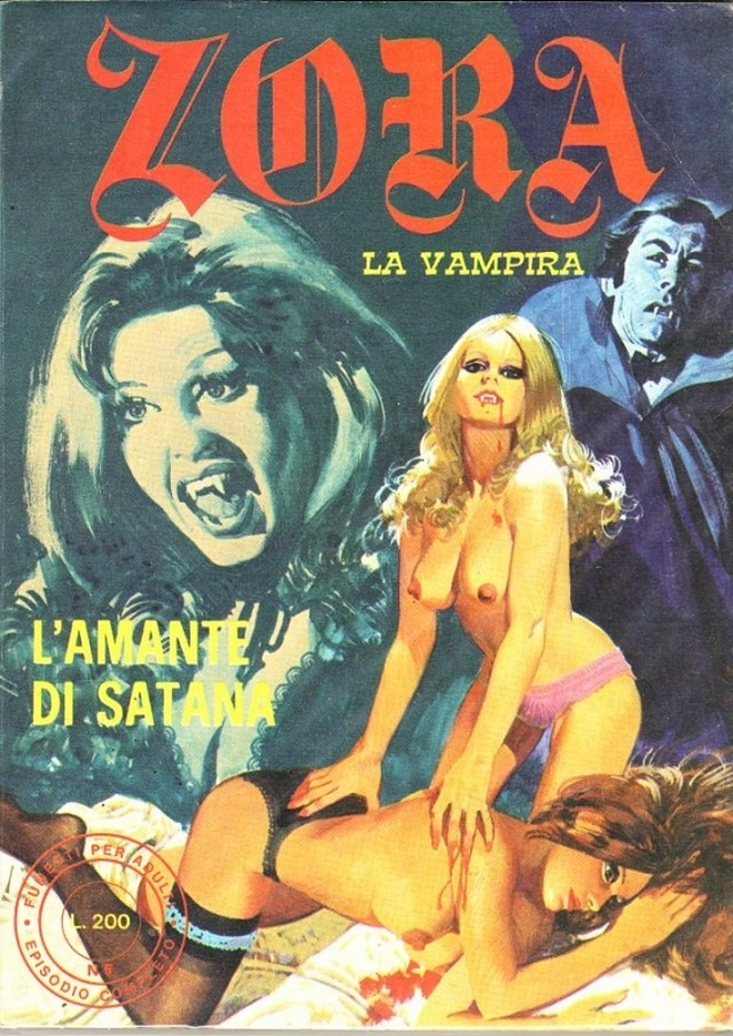 zora the vampyre Alessandro Biffignandi