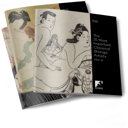 25 most important classical shunga artists volume 1