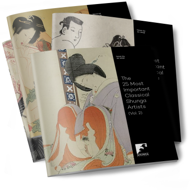 25 most important classical shunga artists volume 2
