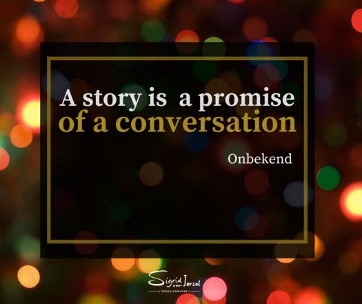 storytelling trend: verhalen zijn conversaties