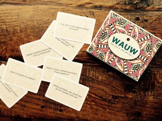 Spel voor verhalen WAUW-kaarten Christa Bergmann