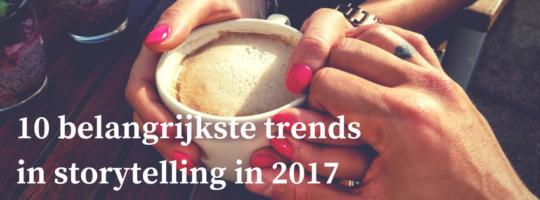 10 trends in storytelling in 2017