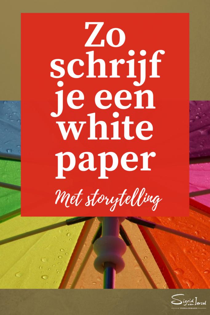 Whitepaper schrijven