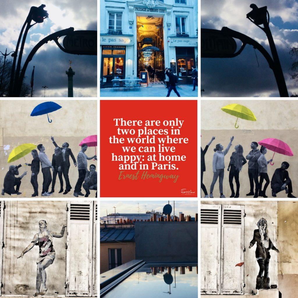 Inspiratie in Parijs