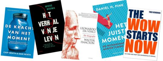 Boekentips over storytelling en creativiteit