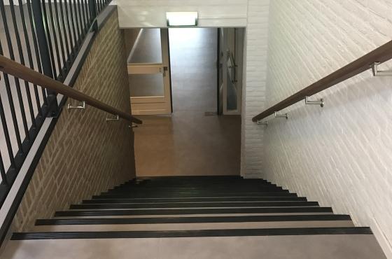 Verbouwing van Verbouwing van het Verenigingsgebouw in Axel