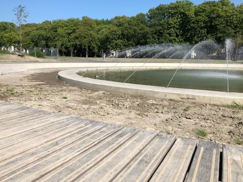 Betonwerk Molenwater Park Middelburg