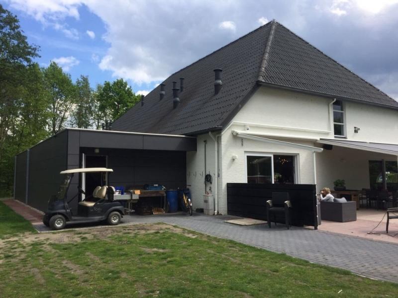 Clubgebouw de Woeste Kop in Axel
