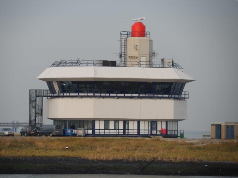 Radartoren in Terneuzen