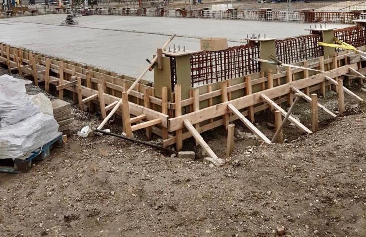 Betonwerk in Sluiskil