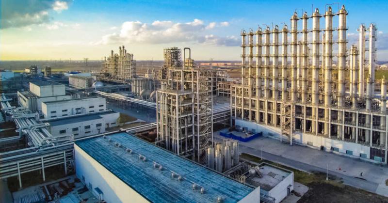 Daqo New Energy - polysilicon manufacturing in Xinjiang – Source: Daqo New Energy