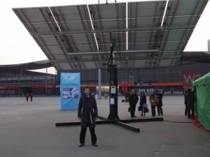 Solar Tracking System - SNEC Shanghai