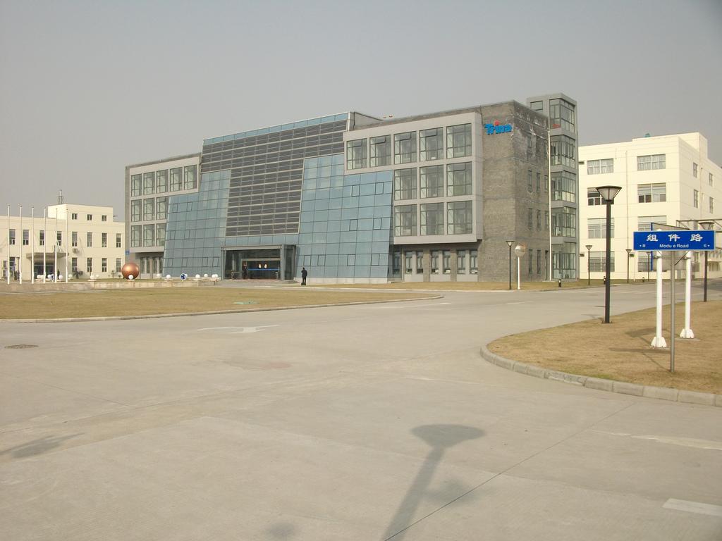 BIPV Curtain Wall - Trina Headquarters