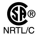 CSA NRTL certification