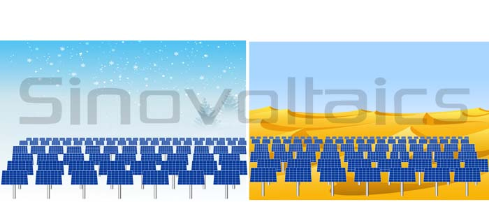Bifacial solar panels mounted vertically