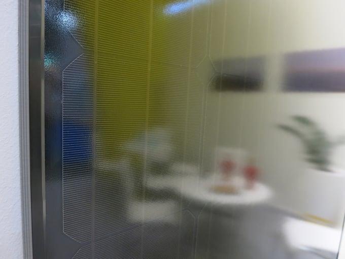 Perlight Think Black solar modules at Intersolar Munich 2015