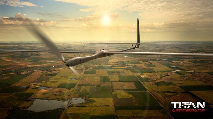 Google - Titan Aerospace - Solara 50