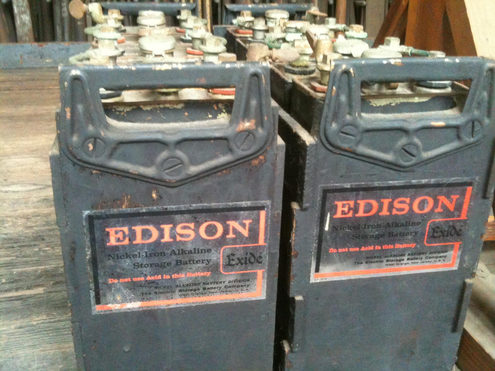 Thomas Edison S Nickel鈥搃ron Batteries