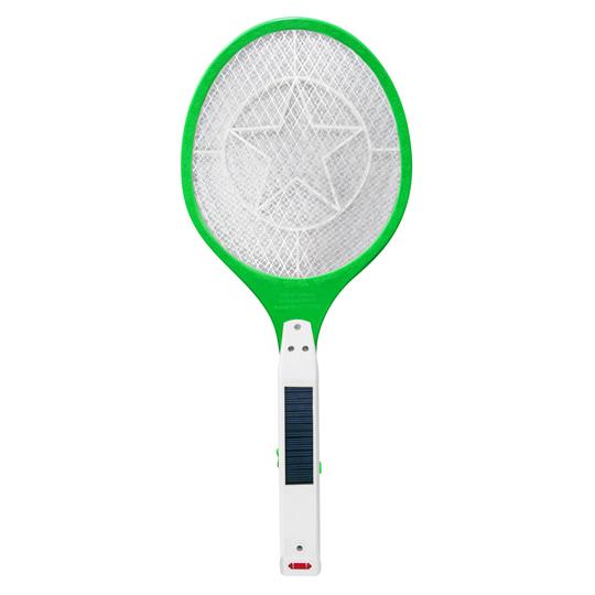 Solar flyswatter