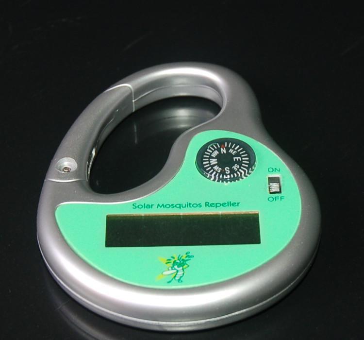Ultrasonic solar bug zapper