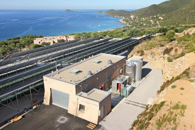 solar powered hydrogen energy storage