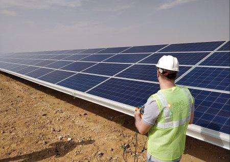 Solar farm inspections