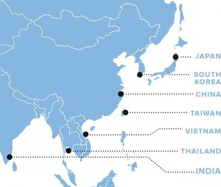 Asia Vendor Tour