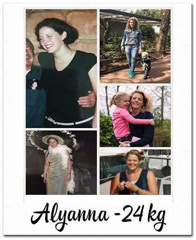 voor- en na foto 24 kilo afvallen