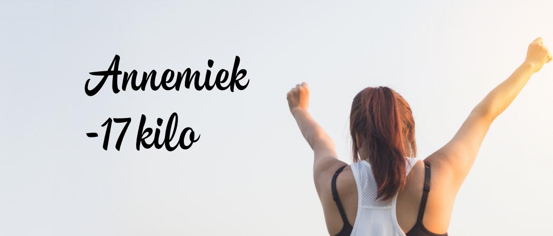 Annemiek viel 17 kilo af en werd een motiverende afvalcoach!