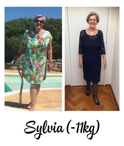 voor- en na foto 11 kilo afvallen