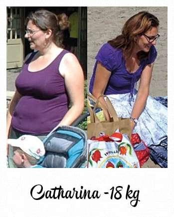 18 kilo afvallen