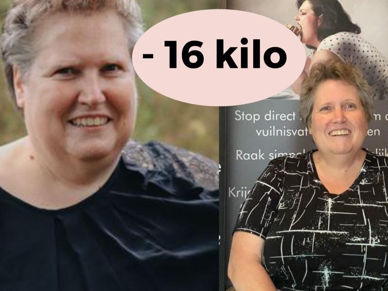 16 kilo kwijt met virtuele maagband