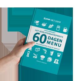 Boek: Het koolhydraatbeperkte  60 Dagen Menu
