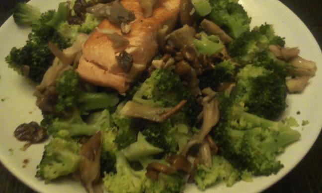 zalm-broccoli