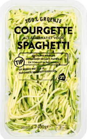 courgette pasta koolhydraatarm