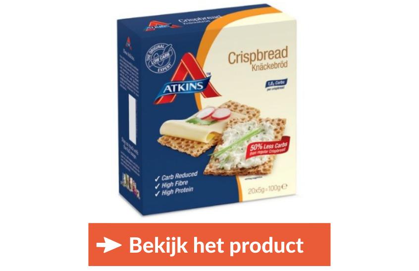 crackers zonder koolhydraten