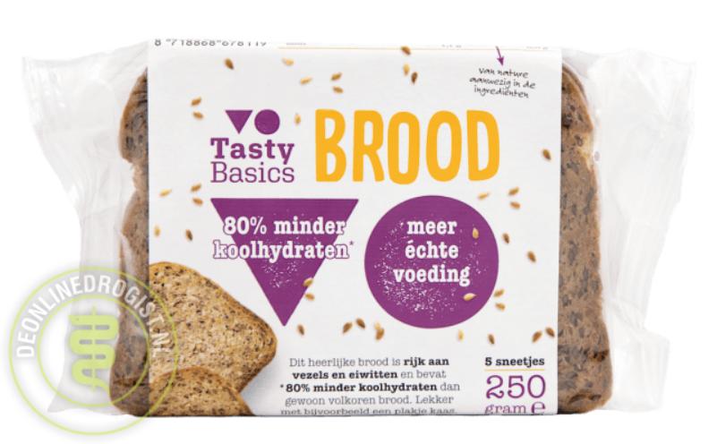 koolhydraatarm brood tasty basics