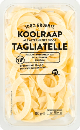 koolhydraatarme pasta koolraap