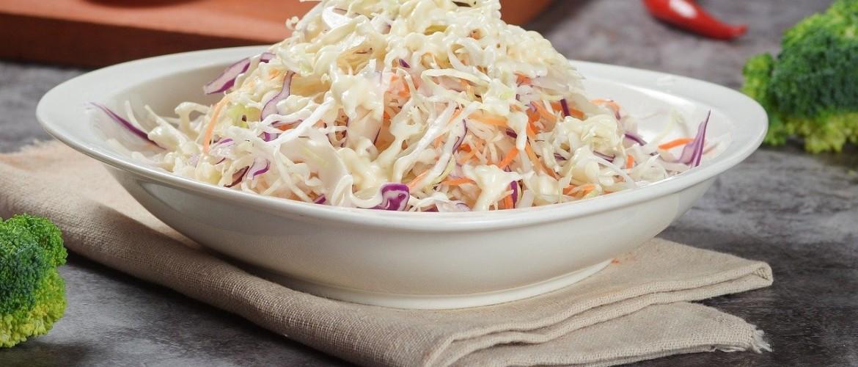 Koolrabi salade met frambozen