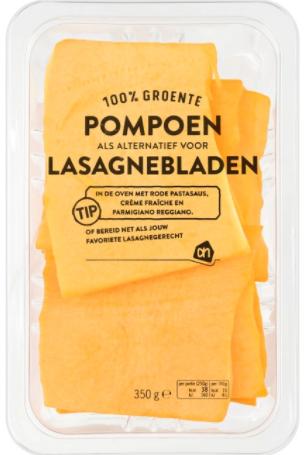 pompoen pasta koolhydraatarm