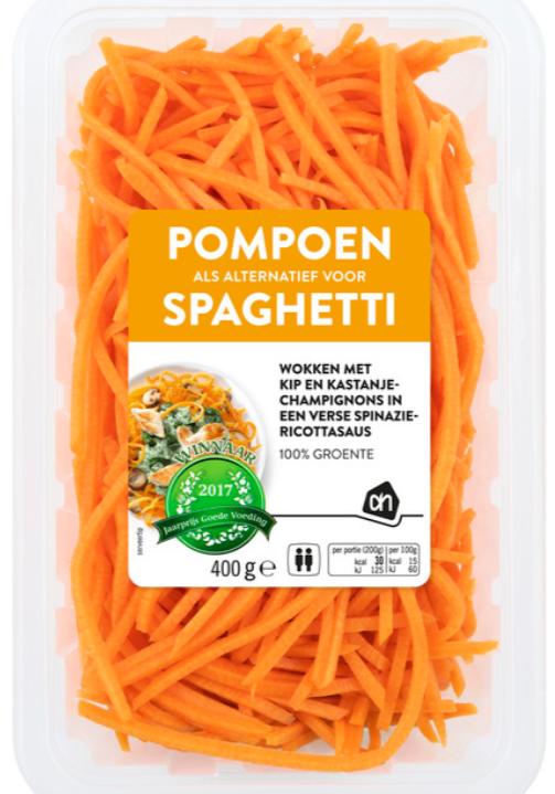 pompoen-spaghetti