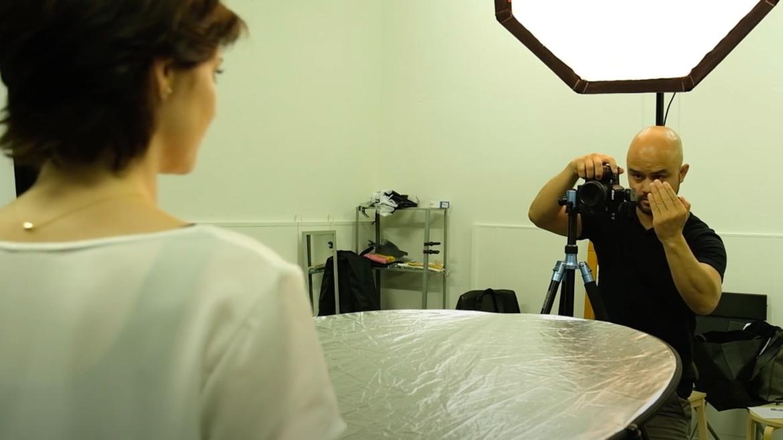 aanwijzingen geven bij portretfotografie