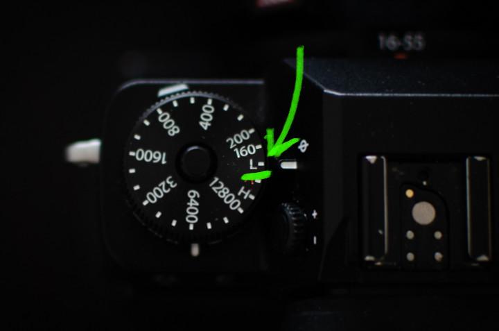 Camera instellingen studiofotografie - ISO waarde