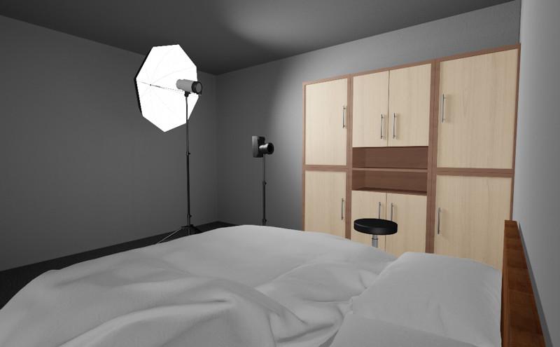 Fotostudio Thuis - Slaapkamer