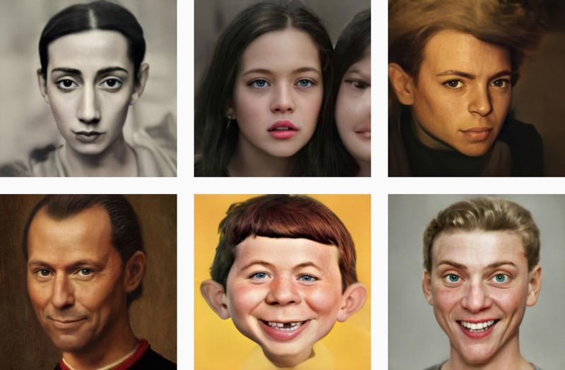Portretfotografie en corona - Generative Adversarial Network Imaging